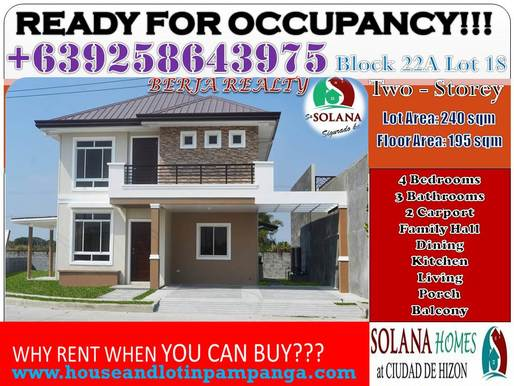 House and Lot for Sale San Fernando, Pampanga, Rent to Own Pagibig, house and lot for sale, in San Fernando Pampanga, Philippines, Houses located in an exclusive subdivision FLOOD FREE, Pampanga Homes, Ready for Occupancy, Pagibig Housing LIPAT AGAD